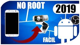 Como usar Smartphone como Webcam via WIFI y USB | OBS | Tutorial 2019