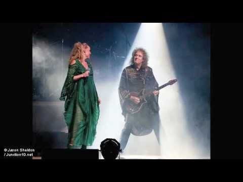 Brian May & Kerry Ellis with Becky Want BBC Radio Manchester 16 05 2011