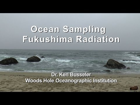 Ocean Sampling Fukushima Radiation
