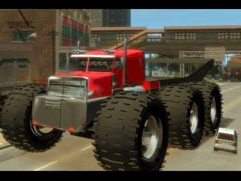 Truck Locations Gta 4 Gta 4 Biggest Monster Truck