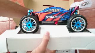 Coche RC HSP Troian Buggy 1/16 Brushless Lipo HSP94185TOP-04 [1080p]