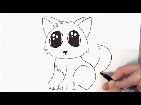 Easy Way To Draw A Cat Face