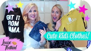 CUTE KIDS CLOTHES with EMILY NORRIS! | MOTHERHOOD