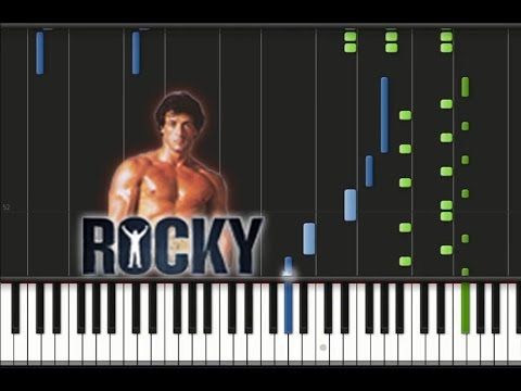 Rocky - Main Theme Song [Piano Cover Tutorial] (♫)