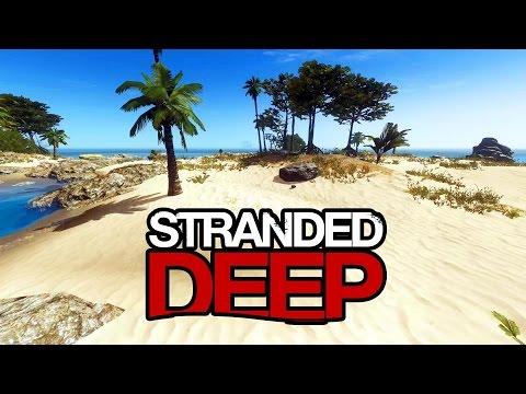 STRANDED DEEP - Alpha Gameplay e Tutorial Básico de Como Jogar! Em 1080p 60fps!