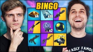 EXTREME BINGO | Fortnite Mini-Game ft. Wouter