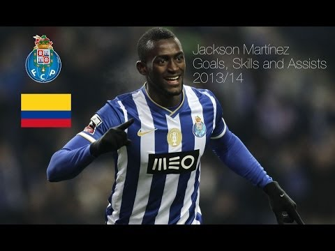 Jackson Martínez Goals, Skills and Assists 2013/14