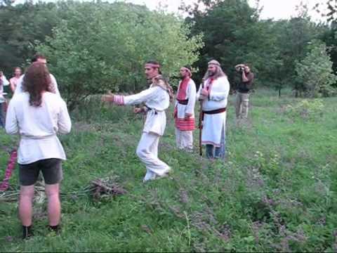 Праздник Купала. Донецк 2012 г Часть1