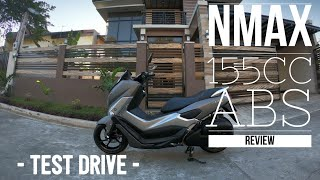 YAMAHA NMAX 155 ABS Review w/ Test Drive   2019