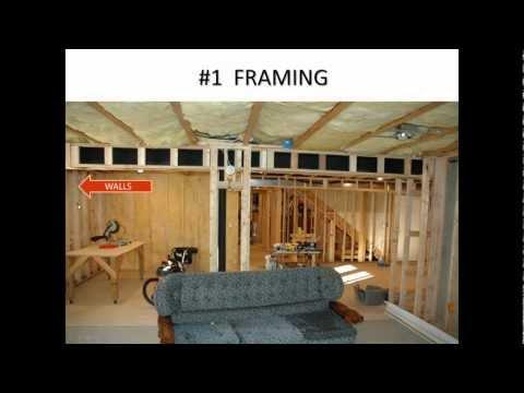 how do you finish a basement 7 major steps 1 critical skill