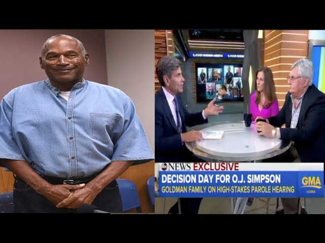 O.J. Simpson gets granted Parole &  Ron Goldman's family is pissed off about it!