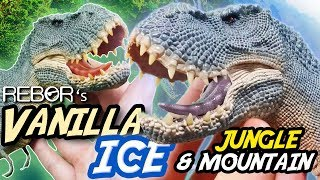 REBOR® Tyrannosaurus Rex 'Vanilla Ice' | Mountain & Jungle | 1:35 Unboxing & Review