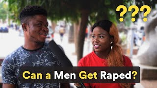 Can a Man Get Raped? Let's Find Out...
