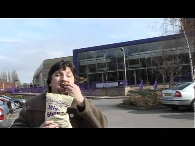 Danny visits Cadbury World