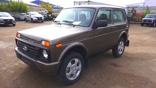 2016 Lada Niva Urban 4x4. Start Up, Engine, and In Depth Tour.