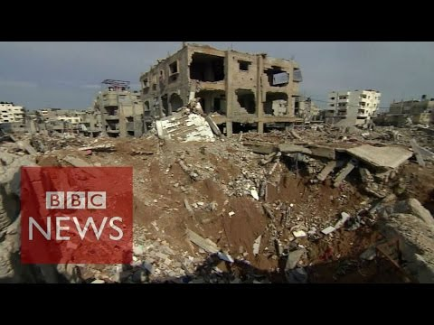 Gaza: War crimes 'by both sides' Israel & Palestinian militants says UN - BBC News