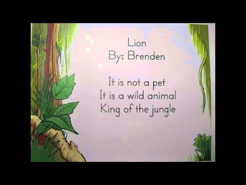1st Grade Poems - Palkey - YouTube