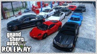 GTA 5 ROLEPLAY - Car Auction & Redline Garage 'HUGE' Car Sale | Ep. 398 Live