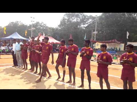South Zone Inter University Kabaddi (men) Tournament 2013 - 14. video