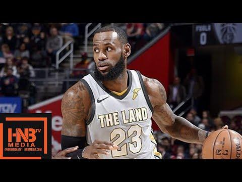Cleveland Cavaliers vs Dallas Mavericks Full Game Highlights / April 1 / 2017-18 NBA Season