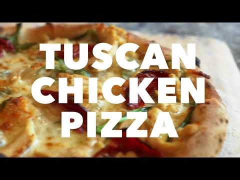 Tuscan Chicken Pizza | 1000 Degrees Pizza Salad Wings