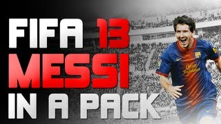 FIFA 13 Ultimate Team: Lionel Messi In A Pack! *EPIC REACTION*