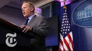 Watch Live: White House Press Briefing | The New York Times
