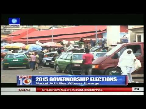 News@10: APC Alleges Plot To Rig Lagos Polls 10/04/15 Pt.2