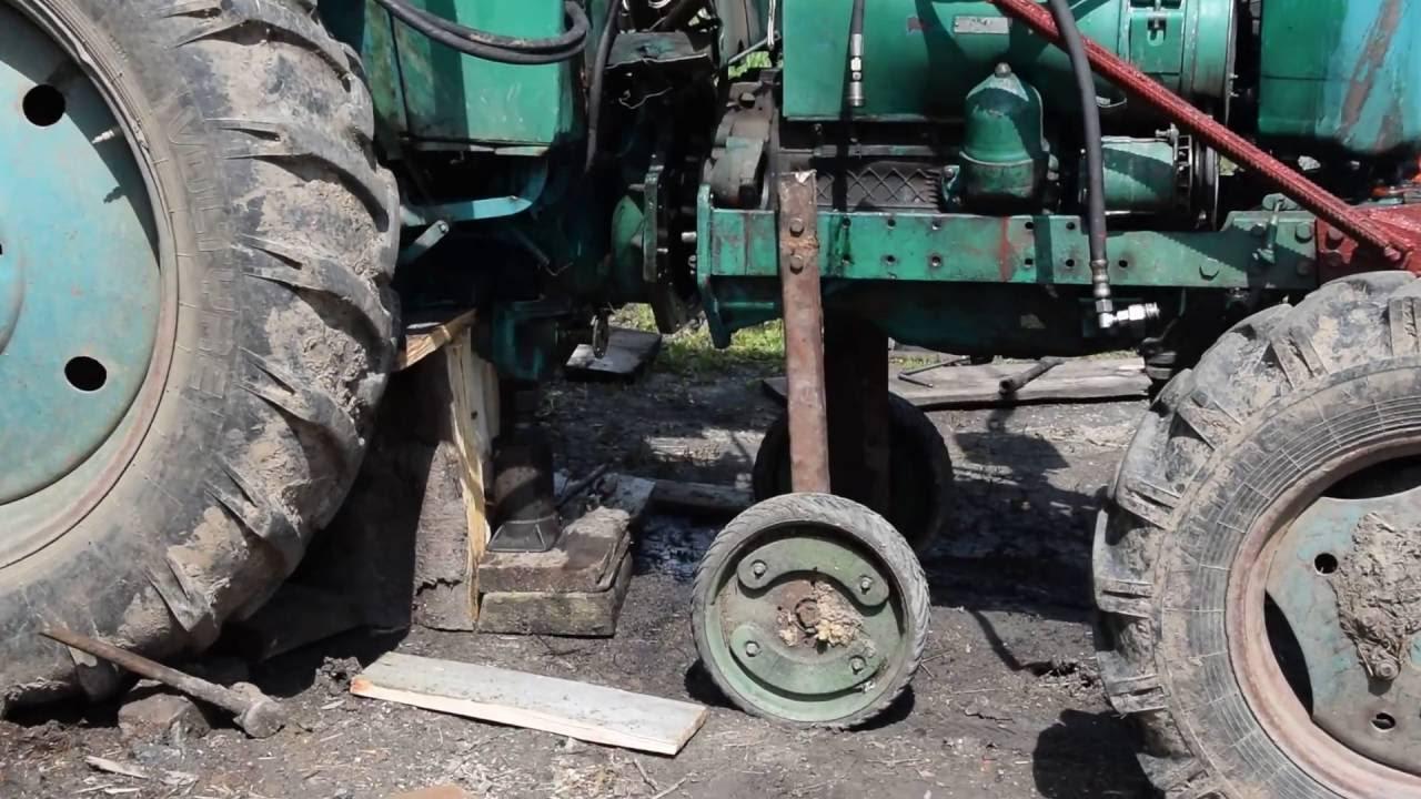 Приспособление для раскатки трактора мтз 80 своими руками 64