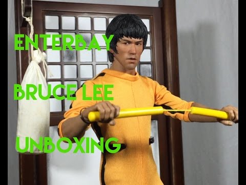 Bruce Lee (75th Anniversary) Enterbay 1/6 Figure UNBOXING