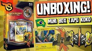 MINI BOX TAPU KOKO! EXCELENTE PRODUTO!