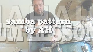 Samba drum lesson