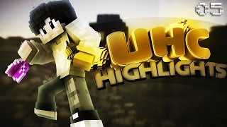 Minecraft: UHC Highlights #5 - Horse (Badlion Win)