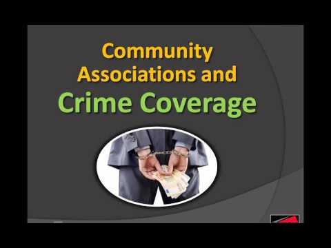 May 16 Webinar- Community Associations and Crime