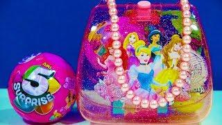 Disney Princess Purse Toys Barbie Love Pets Series 4 Hello Kitty Surprise Egg Trolls Blind Bag