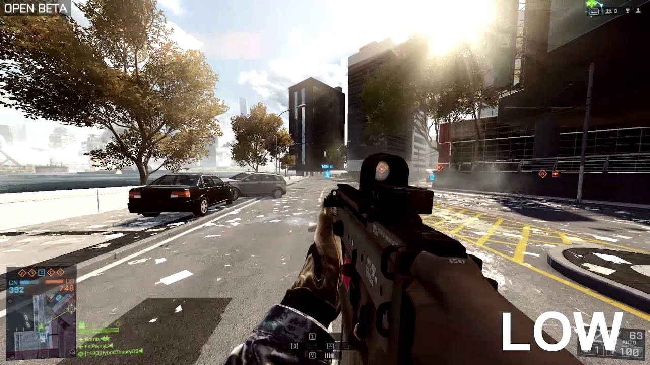 Bf4 Ultra Graphics Bf4 Ultra vs Low 1080p