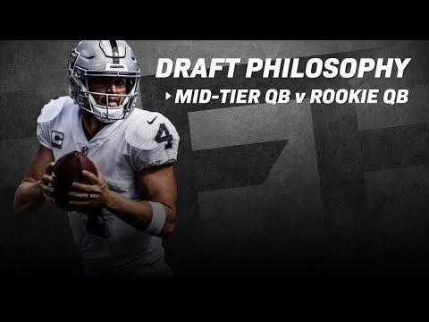 NFL Draft Philosophy: Mid Tier Veteran QB or Rookie QB?  PFF