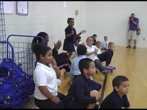 Let's Move With Mayor Bracey at Lincoln Charter School
