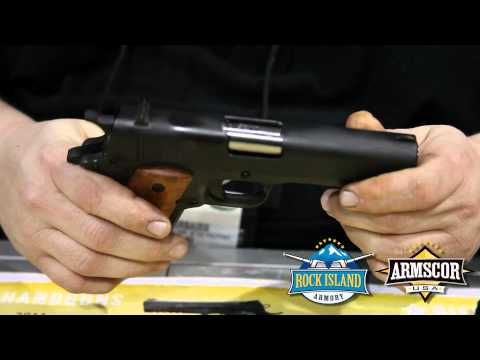 Rock Island Armory - 1911 GI Series - SHOT Show 2012