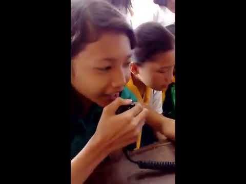 Amateur Radio First QSO Girl Scouts of the Philippines Rizal Council