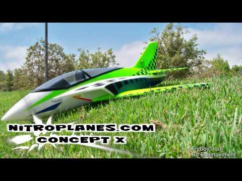 NitroPlanes.com Concept X EDF Jet