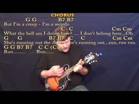 Creep Radiohead Mandolin Cover Lesson With Chordslyrics Best