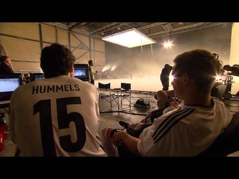Footage from the shooting with the German national team Mercedes Benz Making of