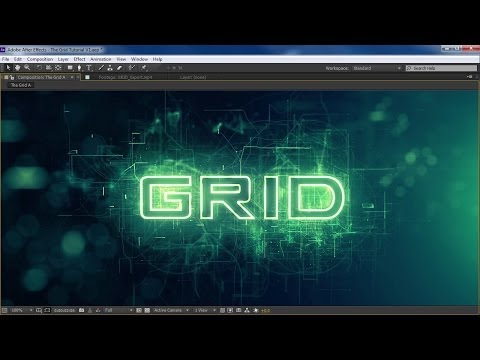 After Effects Template: 3D Mechanic Logo | Futuristic Intro - Scifi Opener