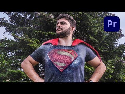 Become Superman Using Adobe Premiere Pro