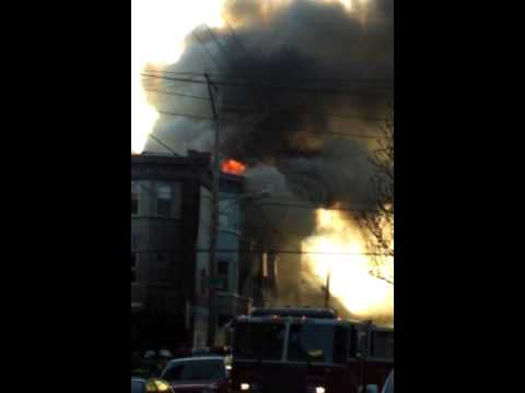 Philadelphia Fire Dept Building Fire with LODD 4/6/13