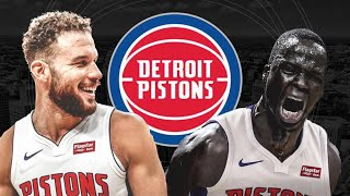 Are the Pistons grooming Thon maker to be like Blake Griffin?