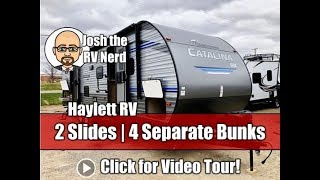 Late 2019/Early 2020 Coachmen Catalina SBX 321BHDS Travel Trailer