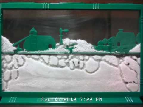 Uncle Milton Giant Ant Farm Time-lapse