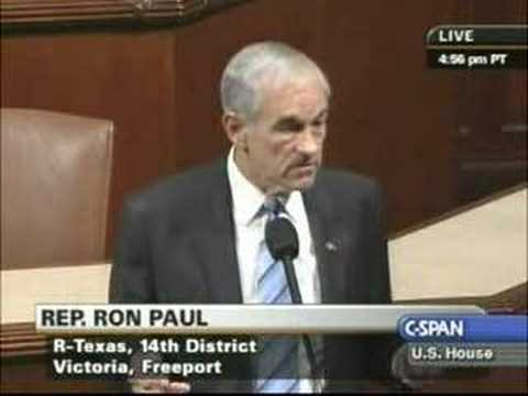 Ron Paul Warns Of Economic Worldwide Collapse